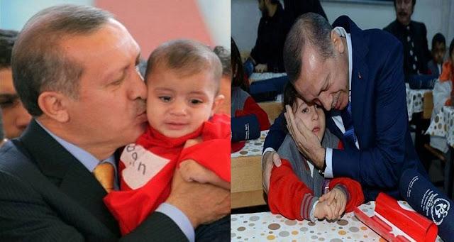 شاهد ماذا فعل أردوغان مع الناجية الوحيدة لعائلة سورية مات كل افرادها جراء القصف الروسي  ؟