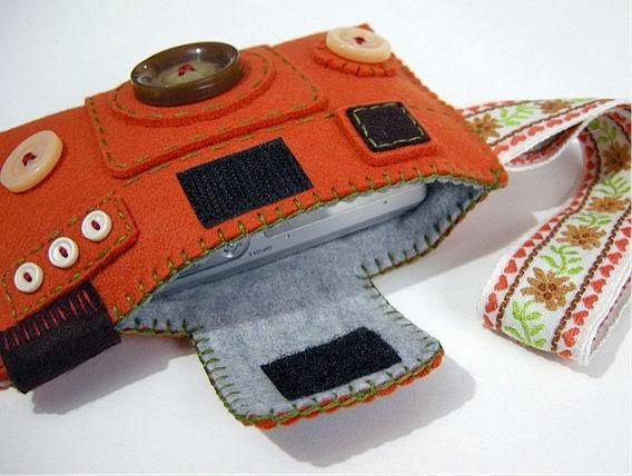 Необычные фетровые чехлы для гаджетов / cases gadgets of felt