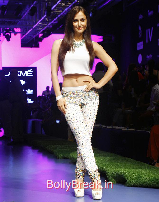 Elli Avram, Bollywood Celebs Pics from Lakme fashion Week 2015 Day 3
