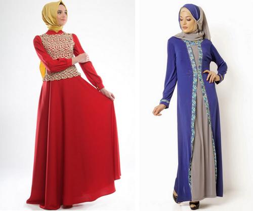 112 Gambar Model Baju Muslim Terbaru Terbaik
