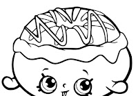 Gambar Mewarnai Shopkins Ice Cream Download Gambar Mewarnai Gratis