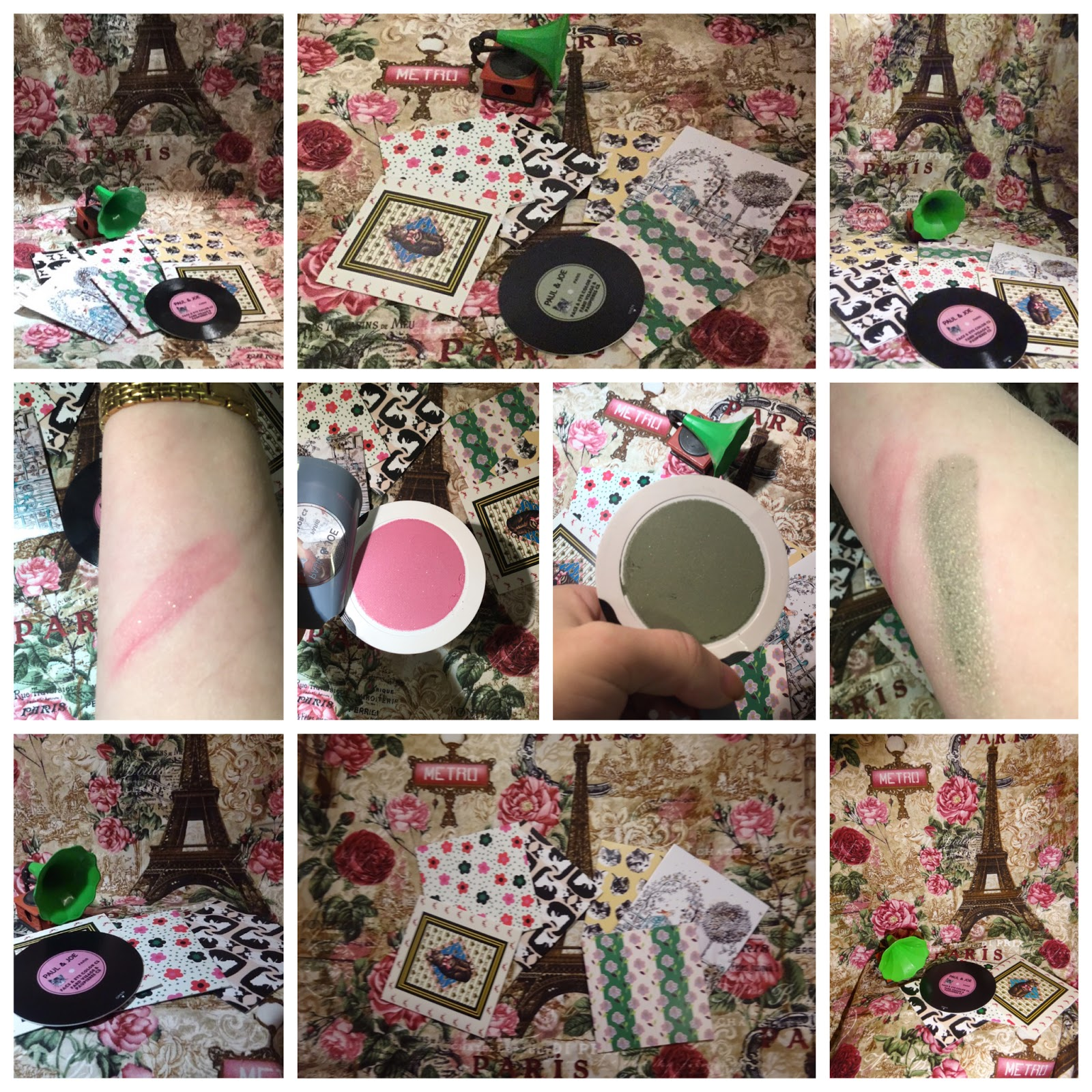 85376e6b59e1b Paul   Joe are known for imprinting makeup into thin layers and then using  it creatively. The limited edition face powders have been made into mini  records ...