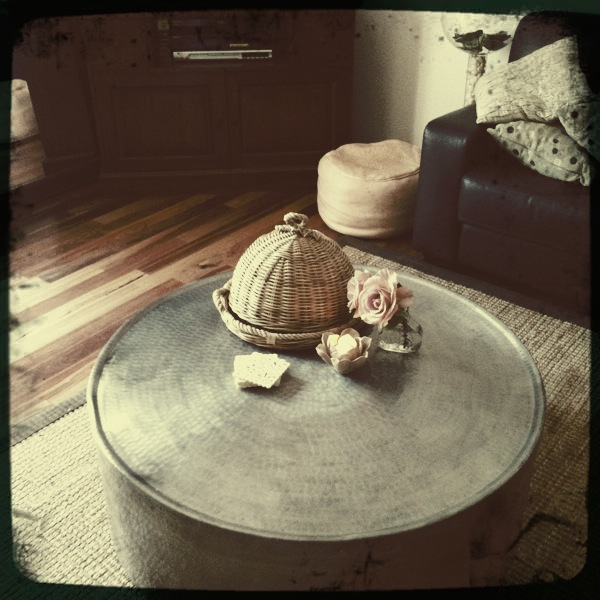 Tied Up With String: It's not a coffee table...