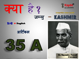 Article 35A of Indian Constitution