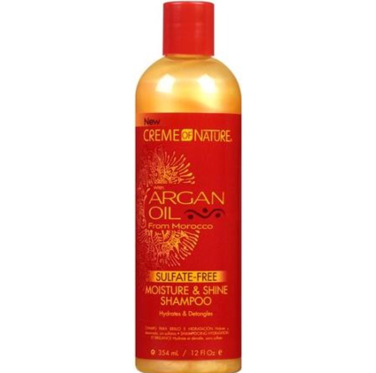 Creme De Nature Argan Oil Shampoo