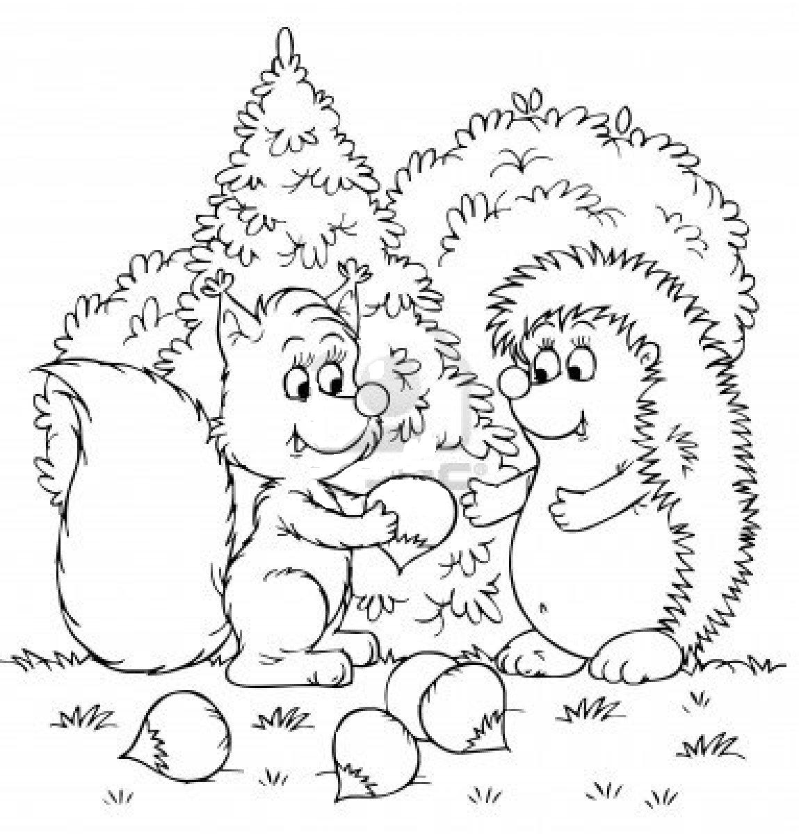 Dreamskindergarten for Temperate forest coloring pages