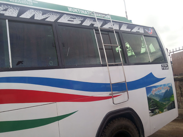 Kathmandu to jomsom Bus reservation service by the Green city Travels
