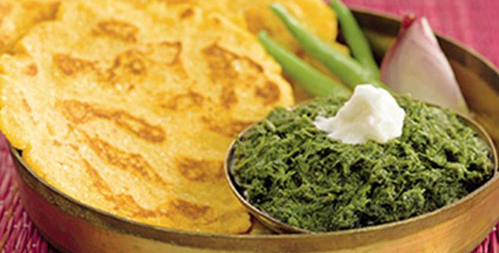 सरसोची भाजी - सरसों का साग - पाककला | Sarsochi Bhaji - Sarson Ka Saag - Recipe