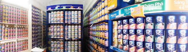 Kinh doanh sữa tươi, sữa bột có lãi không? kinh nghiệm mở đại lý