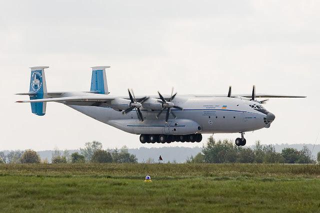 Gambar 6. Foto Pesawat Angkut Militer Antonov An-22