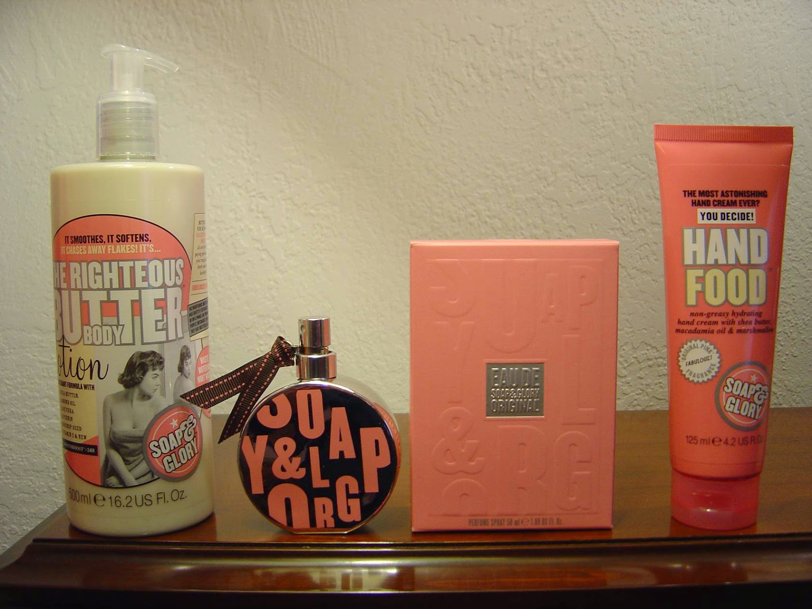 Soap & Glory's Original Pink--Perfume, Hand Food and the Righteous Body Butter.jpeg