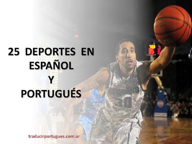 deportes, esportes, español, portugués, traducciones, traductor, portugués