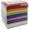 RAINBOW COLORS Peel And Stick Foam Sheets