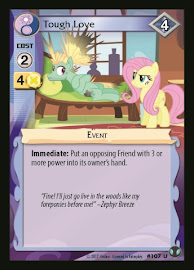 MLP Tough Love Defenders of Equestria CCG Card