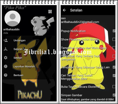 BBM MOD Pokemon Pikachu V3.0.0.18 APK