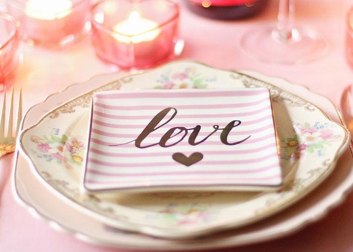 declaração de amor romantica