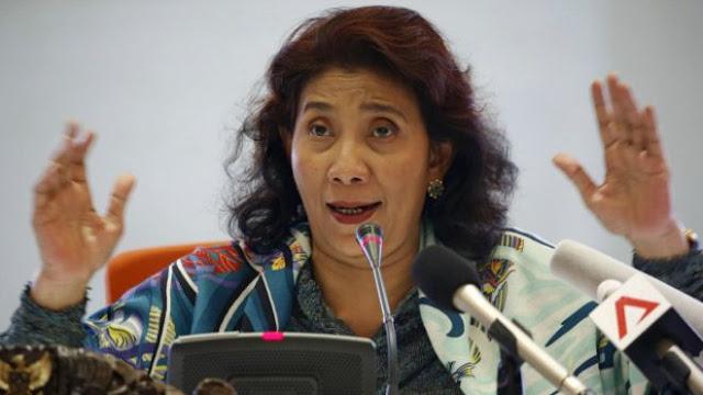 Menteri Susi: Hanya Nelayan Indonesia yang Boleh Tangkap Ikan di Laut Nusantara