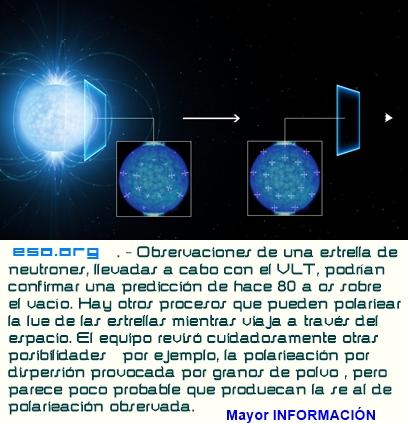 ¿Primeras señales en el espacio vacío de una extraña propiedad cuántica?