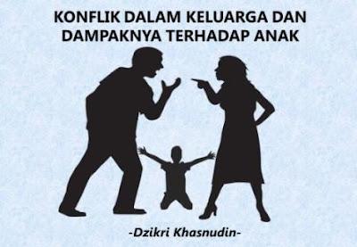 konflik dalam keluarga dan dampaknya terhadap anak