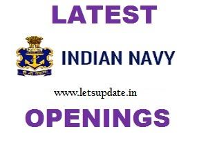 Navy jobs-letsupdate
