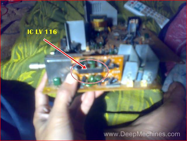 "Komponen LV 116 pada TV China FUJITEC 29"""