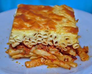 Pastitcio, Macarrones a la Griega