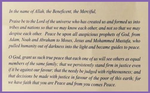 Facing Islam Blog: Westminster Abbey praises Allah