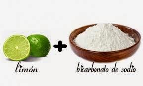 Jugo limon propiedades de del bicarbonato con