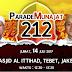Doa untuk bangsa, Jumat Besok Akan Digelar Parade Munajat 212 di Masjid Al Ittihad, Tebet