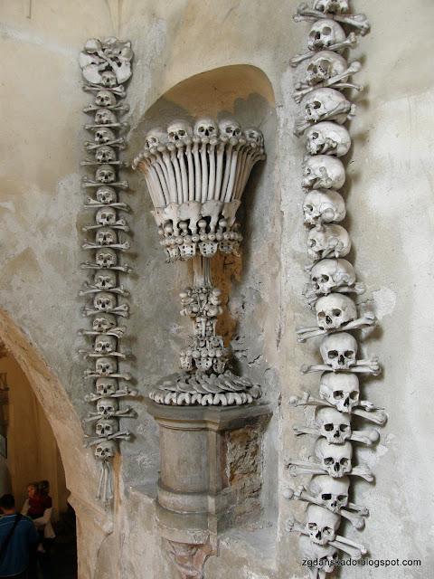 Kutná Hora - Kaplica Czaszek