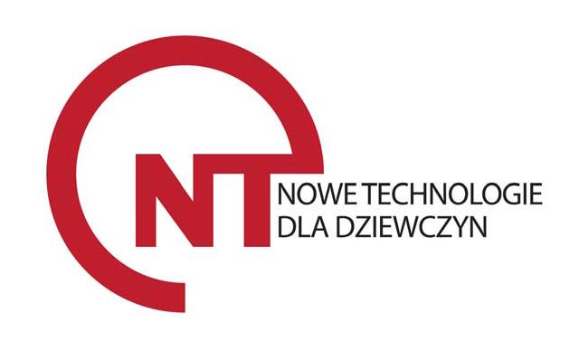 Logo konkursu Nowe Technologie dla Dziewczyn