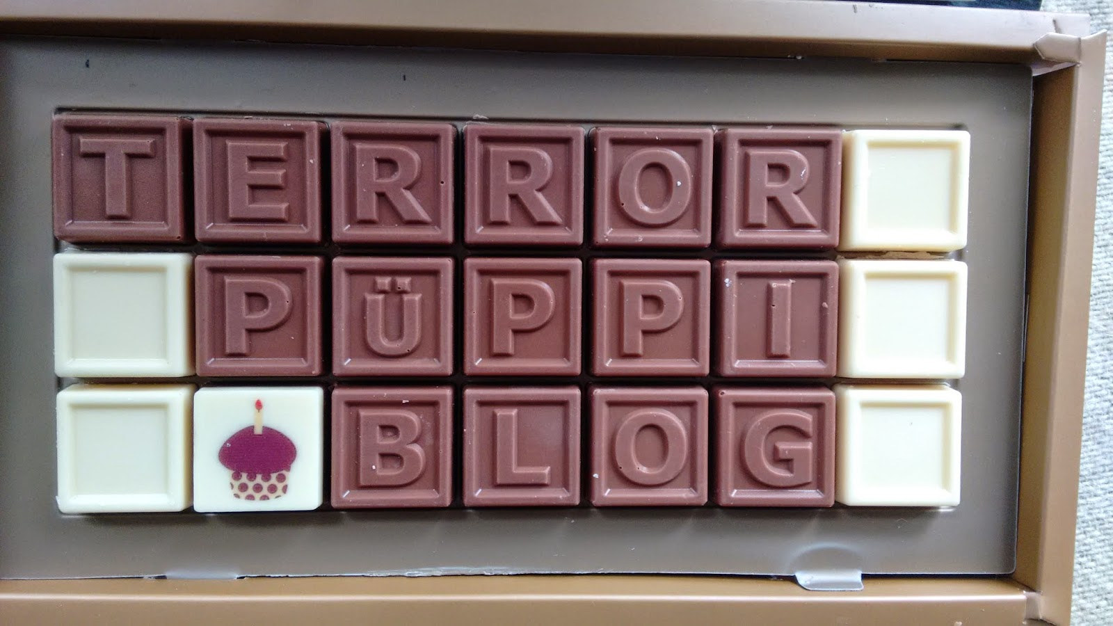 Schokolade mit dem namen Terrorpüppi Blog