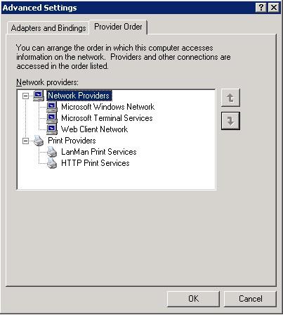 Microsoft Windows Server 2003 Enterprise Edition Failover