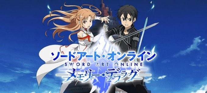Sword Art Online: Memory Defrag, Game para smartphone anunciado!