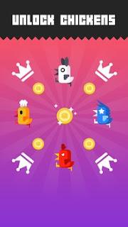 Chicken Scream MOD APK v1.3.0 [Unlimited Gold & Gems] Terbaru Gratis Download
