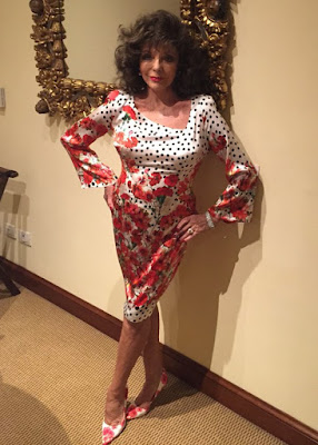 ... one night only… Joan Collins to perform at Norfolk holiday village