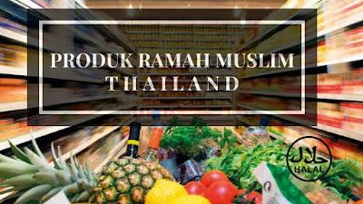 Makanan belanja jajan halal bangkok