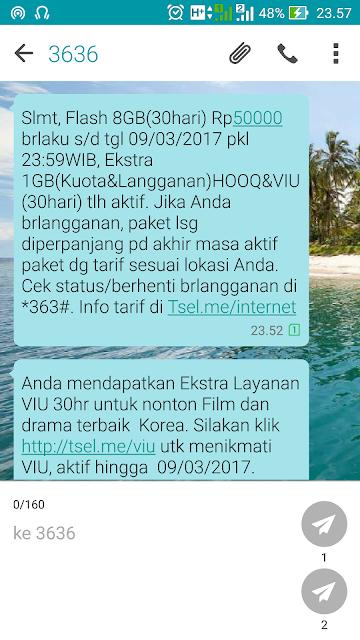 Cara Daftar Paket Internet Telkomsel Super Murah 8GB 50 Ribu
