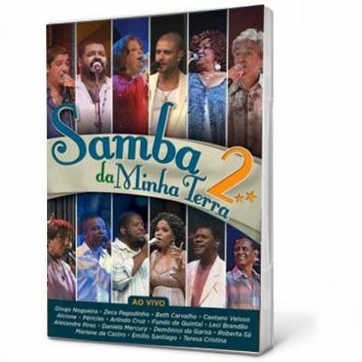 DVD Samba da Minha Terra 2 DVD-R