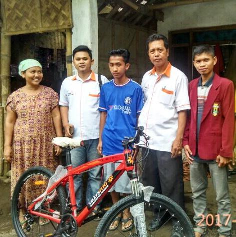Kejutan Sebuah Sepeda untuk M. Ali Wafa