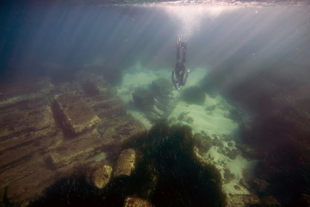 Exploring the watery remains of France's sunken Roman port of Olbia