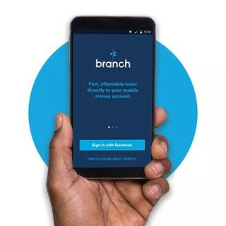 New branch loans  app