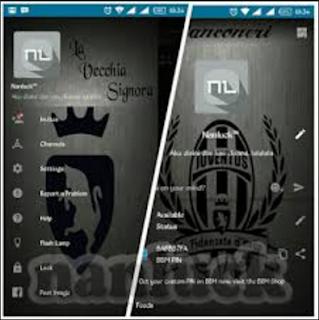 BBM Mod Juventus Versi 2.10.0.31 Terbaru