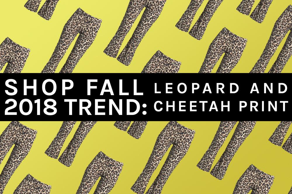 Leopard Print Trend