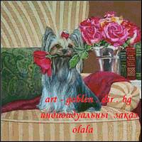 Soba4ka s rozoi