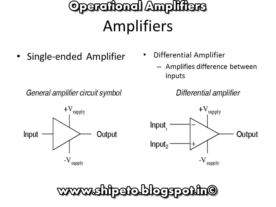 Operational Amplifier-Power Electronics(ETO) - Electro Technical Officer