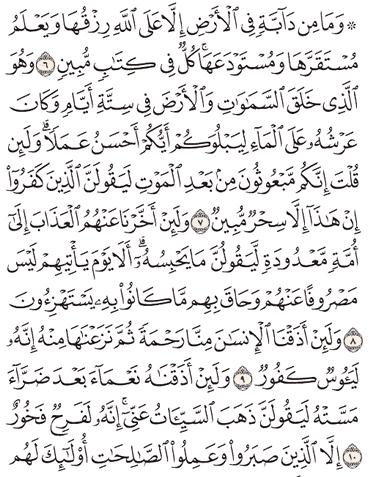 Tafsir Surat Hud Ayat 6, 7, 8, 9, 10