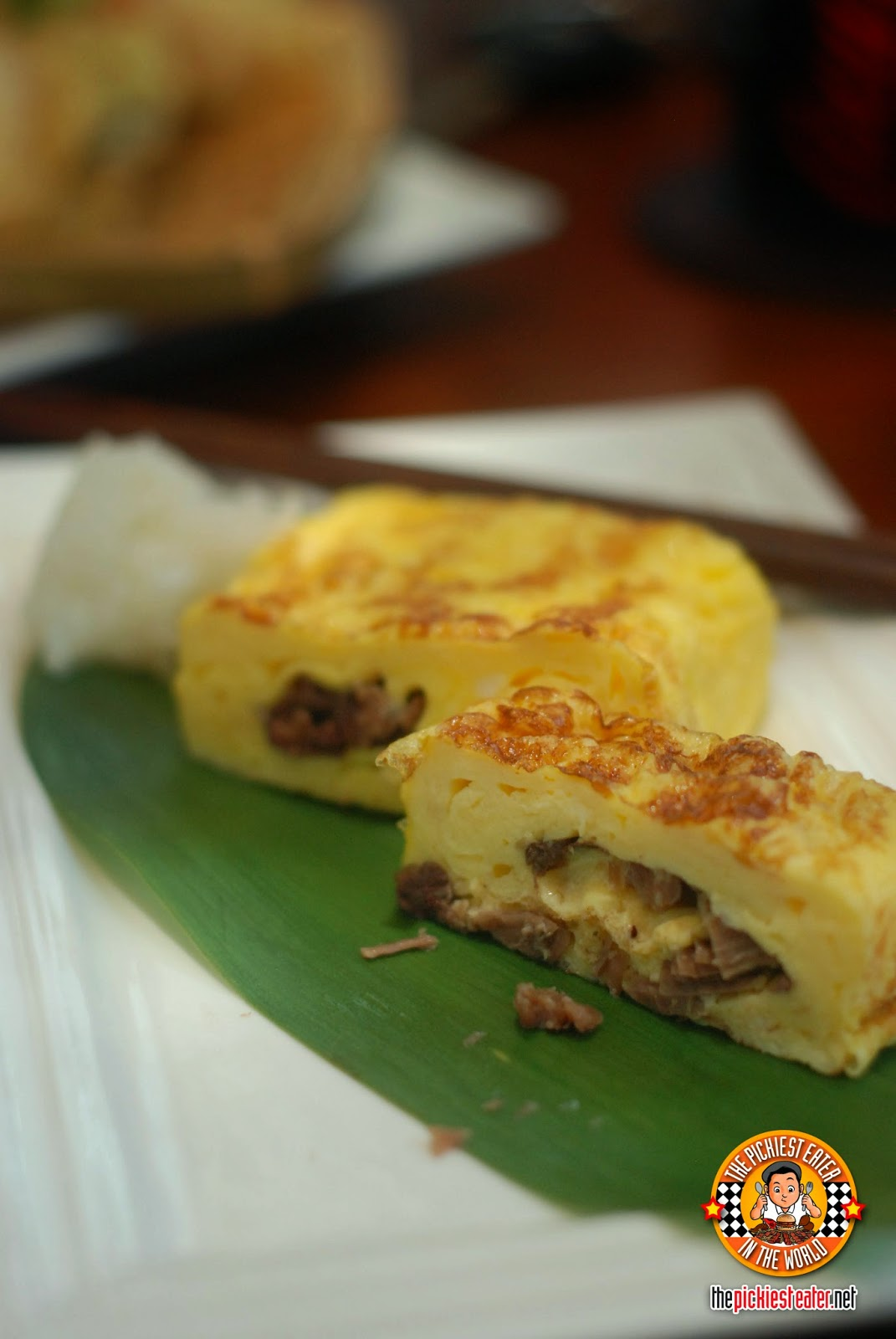 Ox Tail Omelet