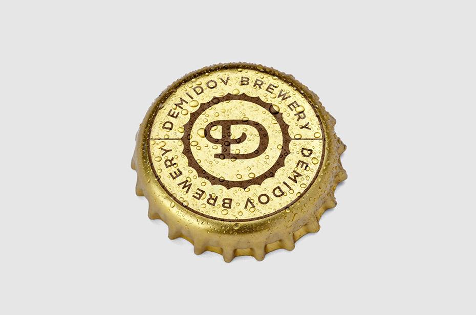 дизайн логотипа, ребрендинг, Демидовские пивоварни