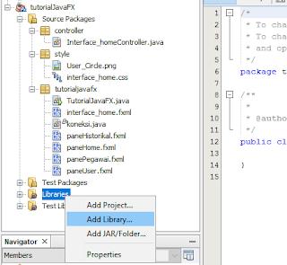Cara Membuat Koneksi Database di JavaFX 2